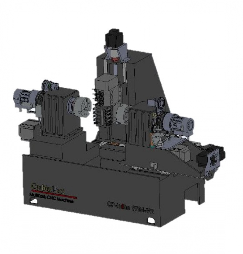 CNC LATHE MACHINE MODEL CP4MV1