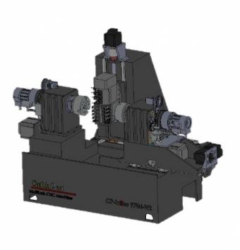CNC LATHE MACHINE MODEL CP4MV1