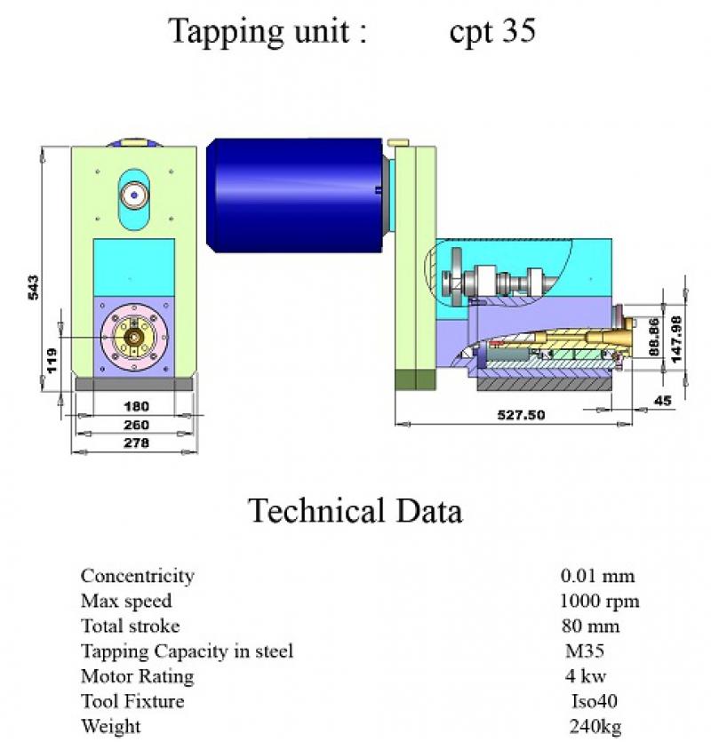 tapping uni_ M .35